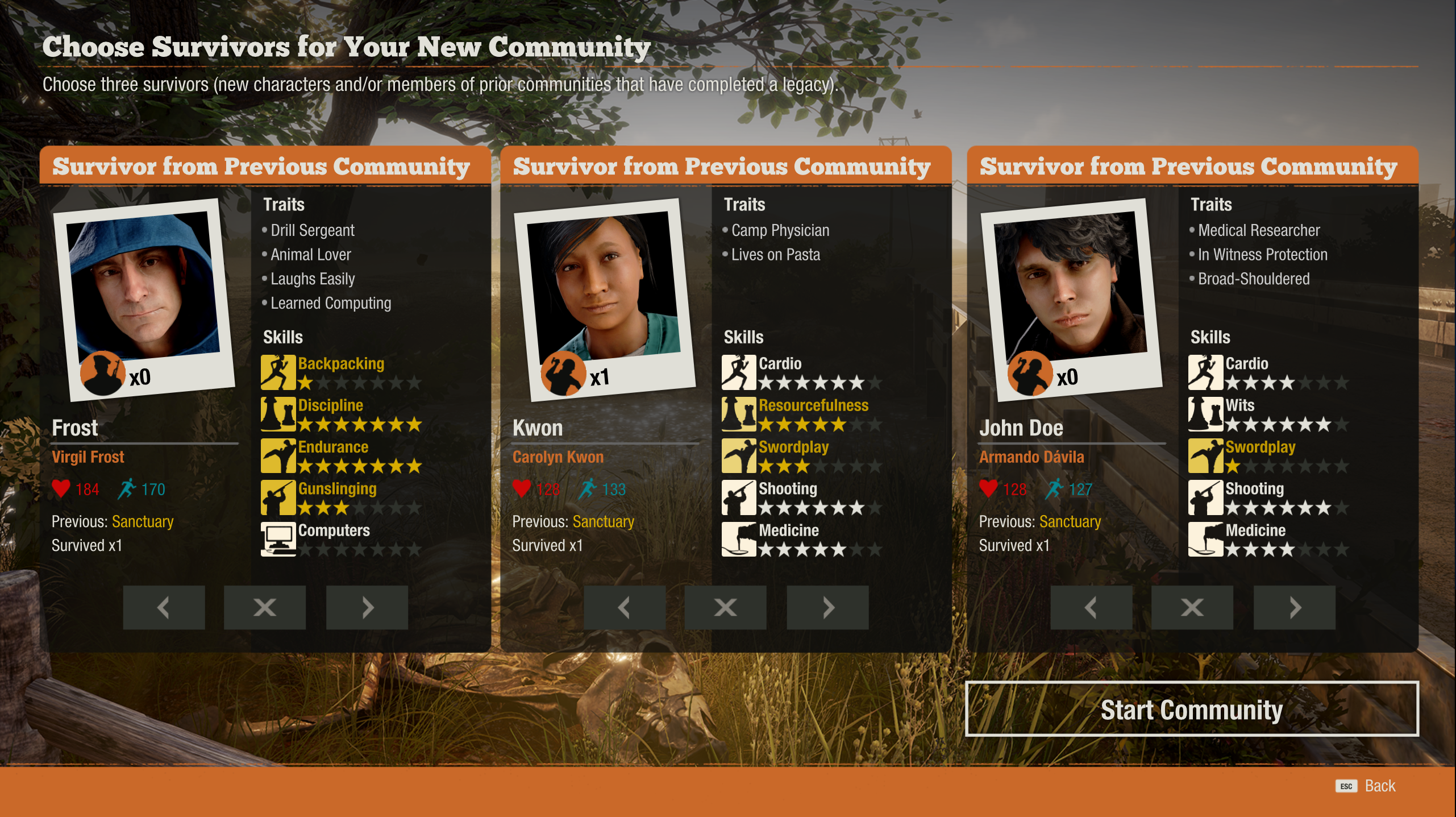 State of Decay 2: Legacy Boons and the Hero Pool – Dadditude Speaks